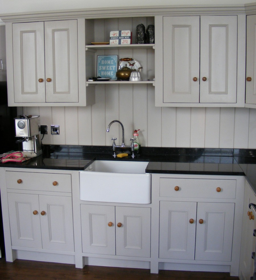 Kitchen Furniture Perth: Solid Wood Bespoke Painted Kitchen