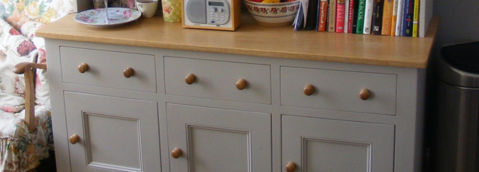Solid Wood Bespoke Painted Kitchen